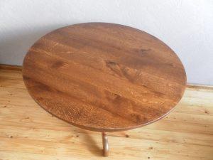 nieuw tafelblad meubelmaker Cirkel Hout
