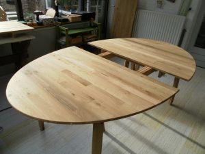 restaurant tafel meubelmaker Cirkel Hout
