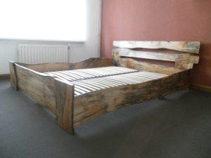 bed van Stadshout Den Bosch door meubelmaker Cirkel Hout