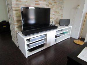 tv kast meubelmaker Cirkel Hout