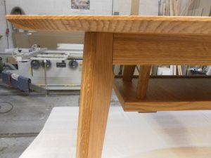 salontafel meubelmaker Cirkel Hout