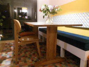 tafelpoten aanpassen meubelmaker Cirkel Hout