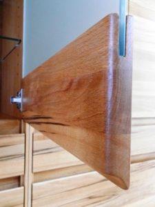 detail kast meubelmaker Cirkel Hout