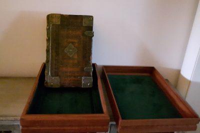bijbelkistje meubelmaker Cirkel Hout