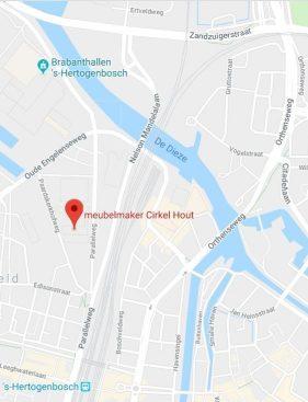 locatie zoom meubelmaker Cirkel Hout